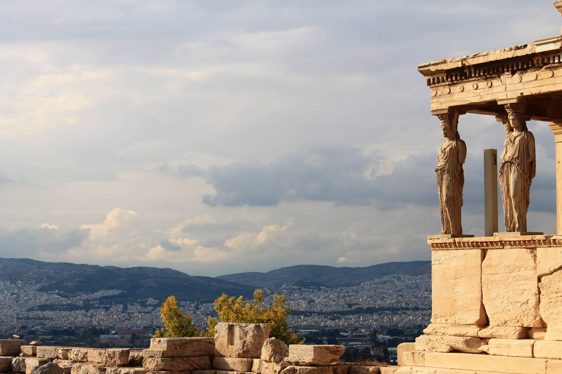 Athens walking tour with Acropolis