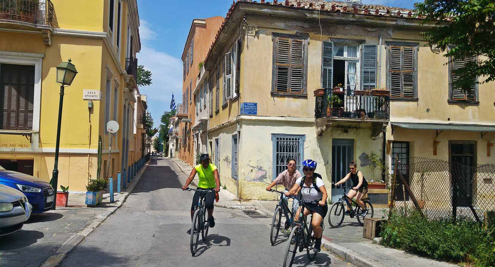 Athens afternoon bike tour