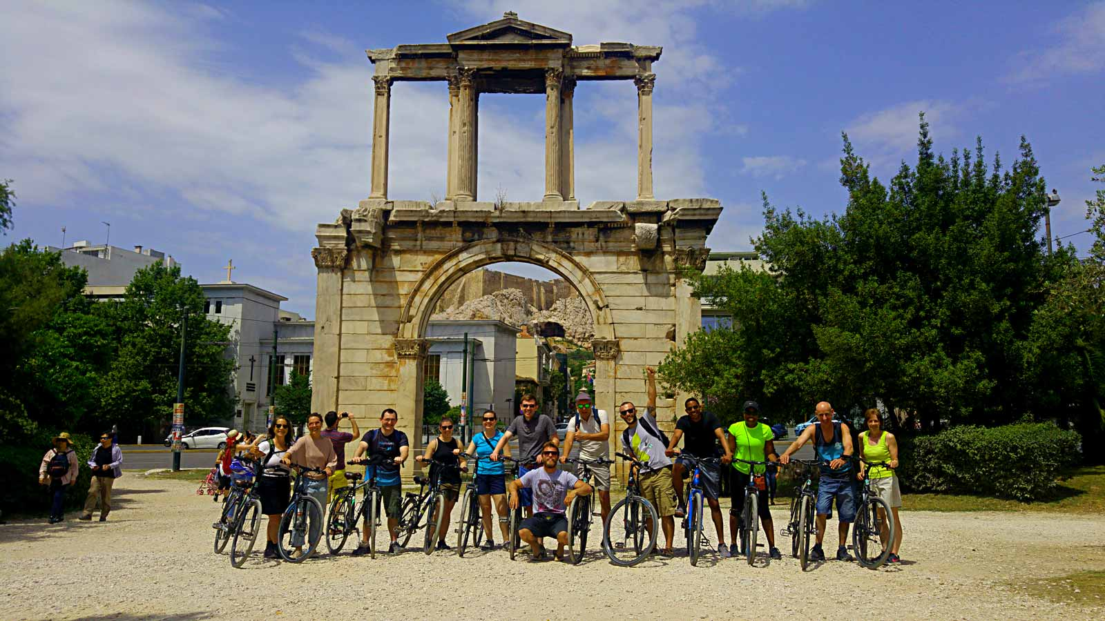 Athens morning bike tour