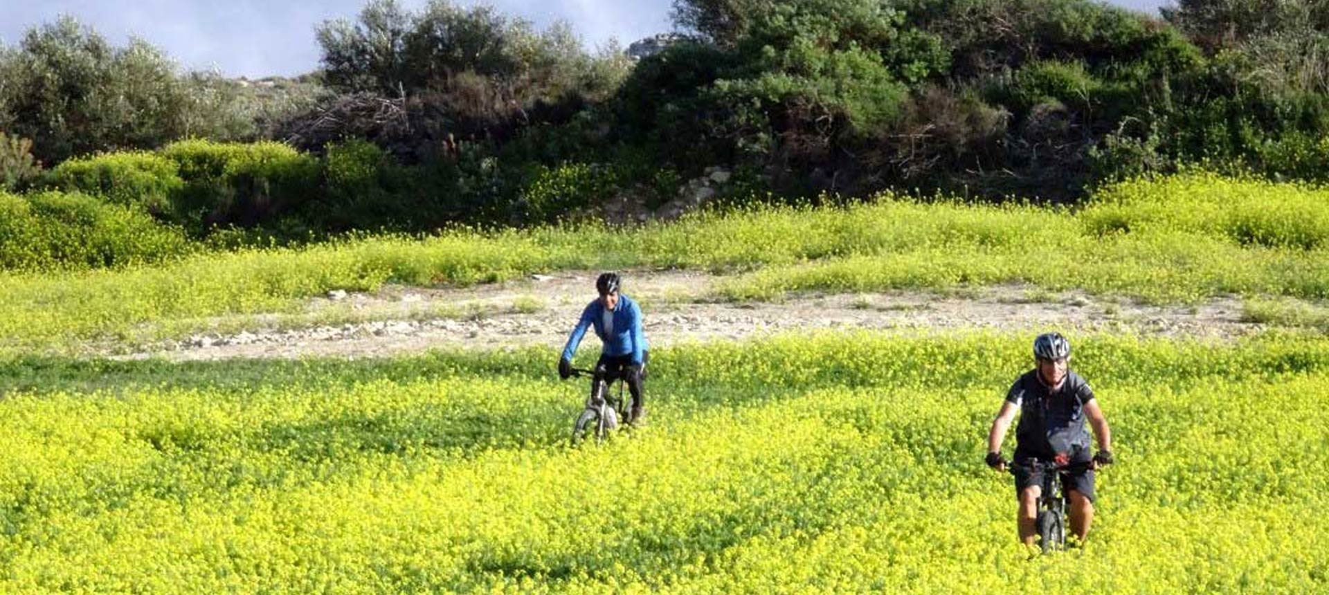 Crete Melidoni mountain bike tour