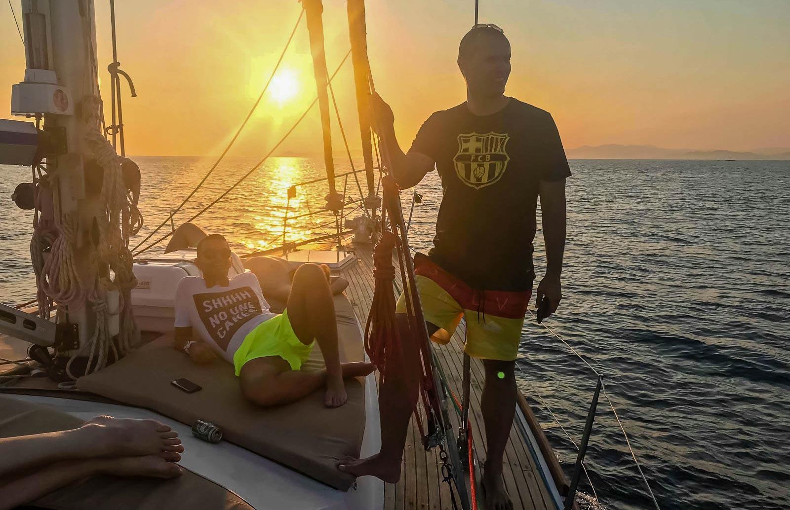 Swim & Dine Caldera Sunset Cruise