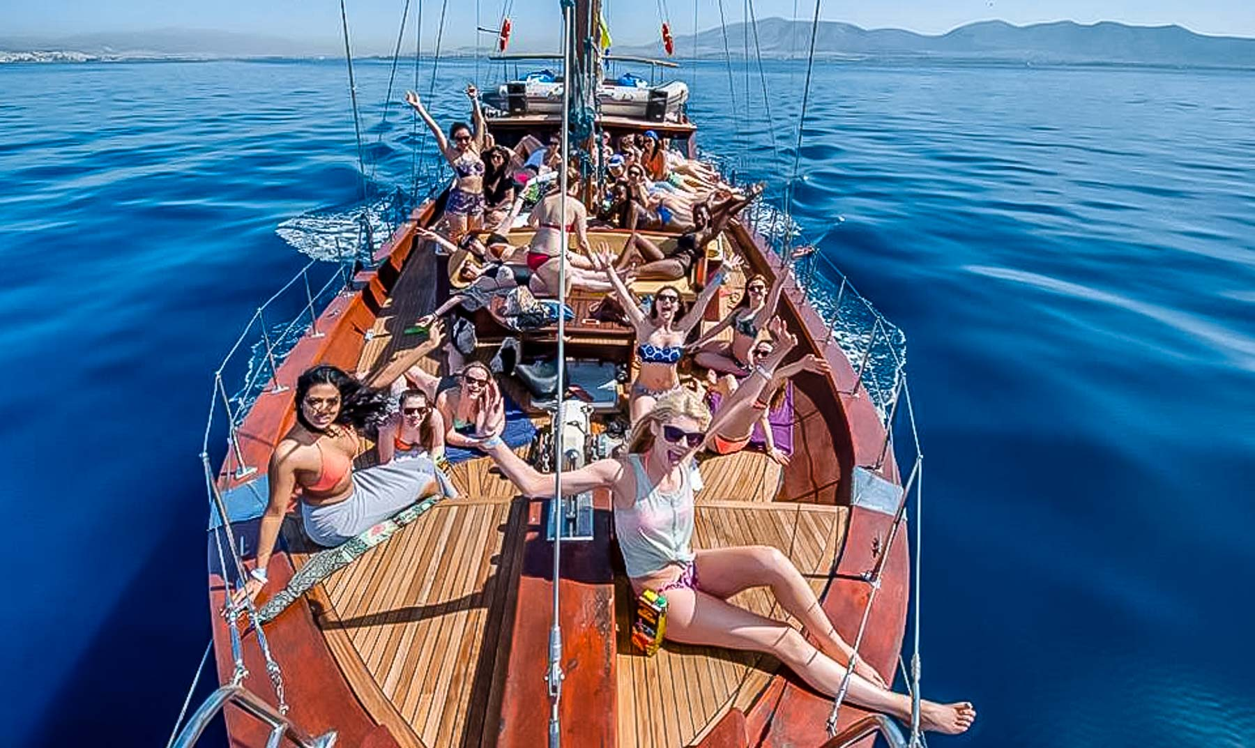 Sailing in the Saronic Gulf